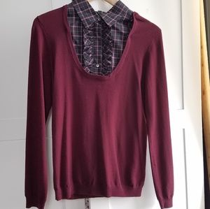 Theory wool knit top